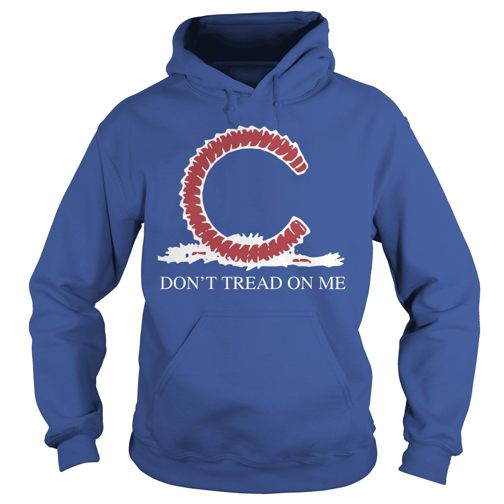 Chicago Cubs Don't Tread On Me Hoodie