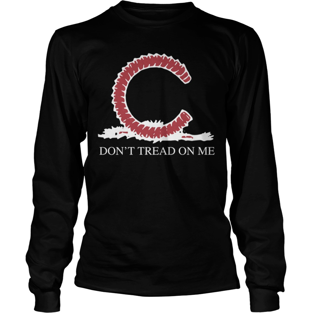 Chicago Cubs Don't Tread On Me Longsleeve Tee