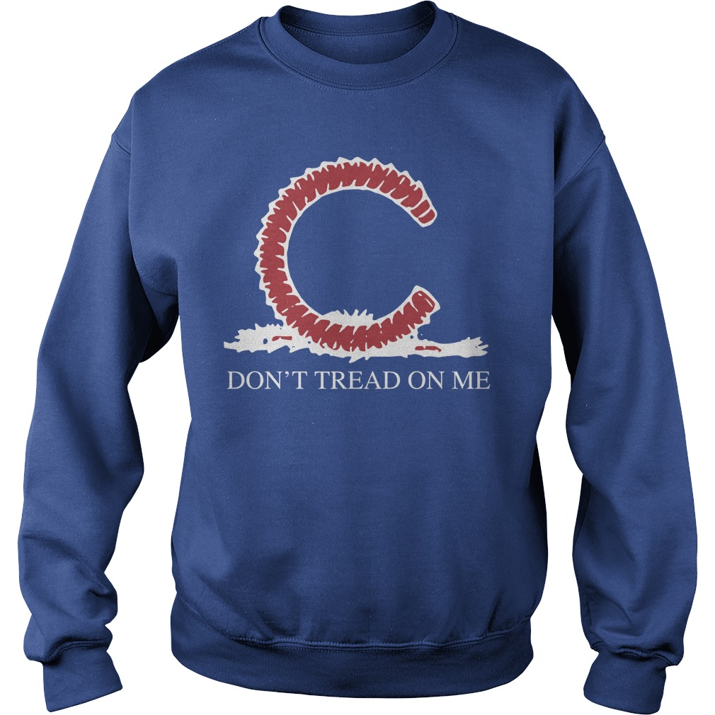 Chicago Cubs Don't Tread On Me Sweater