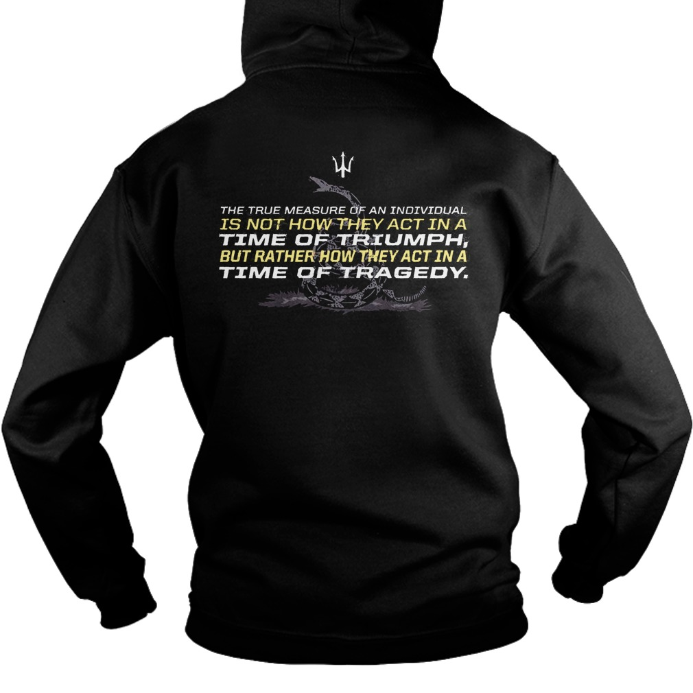 Chris Pratt Don't Tread On Me Back Hoodie