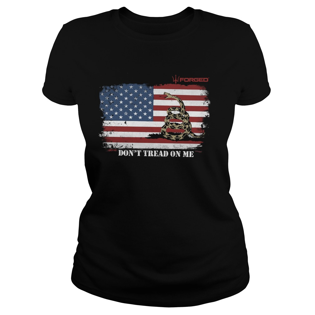 Chris Pratt Don't Tread On Me Ladies Shirt
