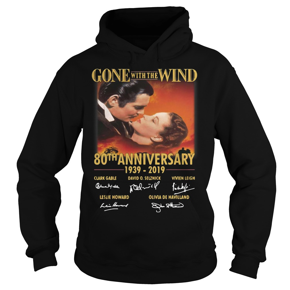 Gone With The Wind 80th Anniversary 1939 2019 Signatures Hoodie