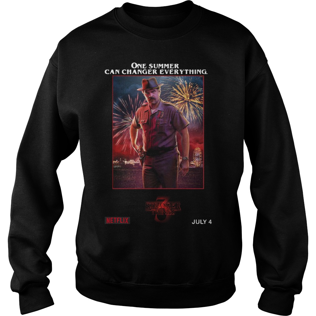 Jim Hopper One Summer Can Change Everything Sweater