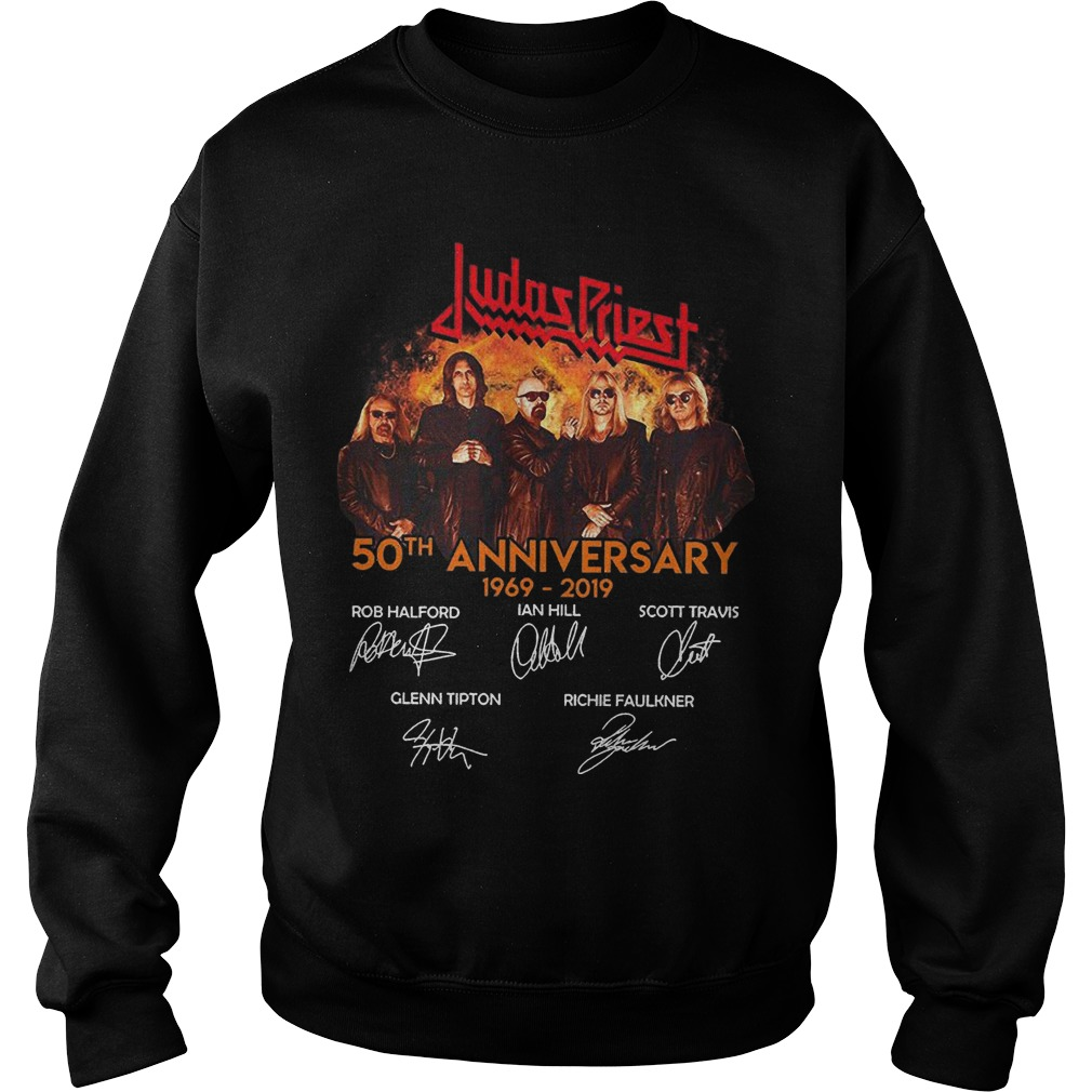 Judas Priest 50th Anniversary 1969 2019 Sweater