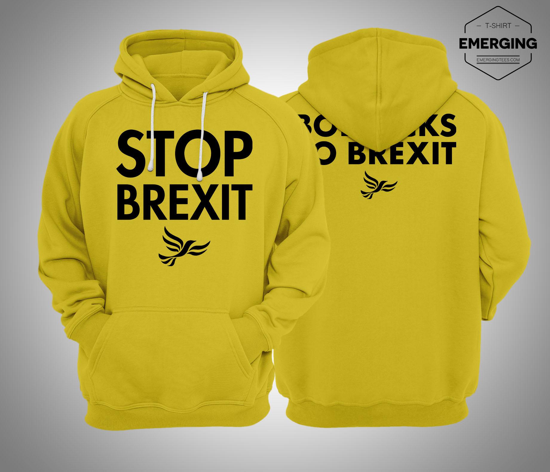 Lib Dem Stop Brexit Hoodie