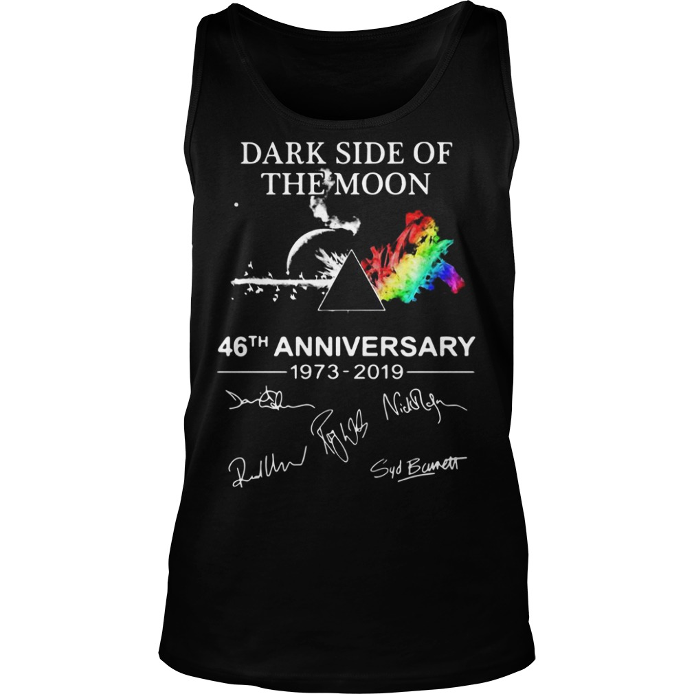 Pink Floyd Dark Side Of The Moon 46th Anniversary 1973 2019 Tank Top