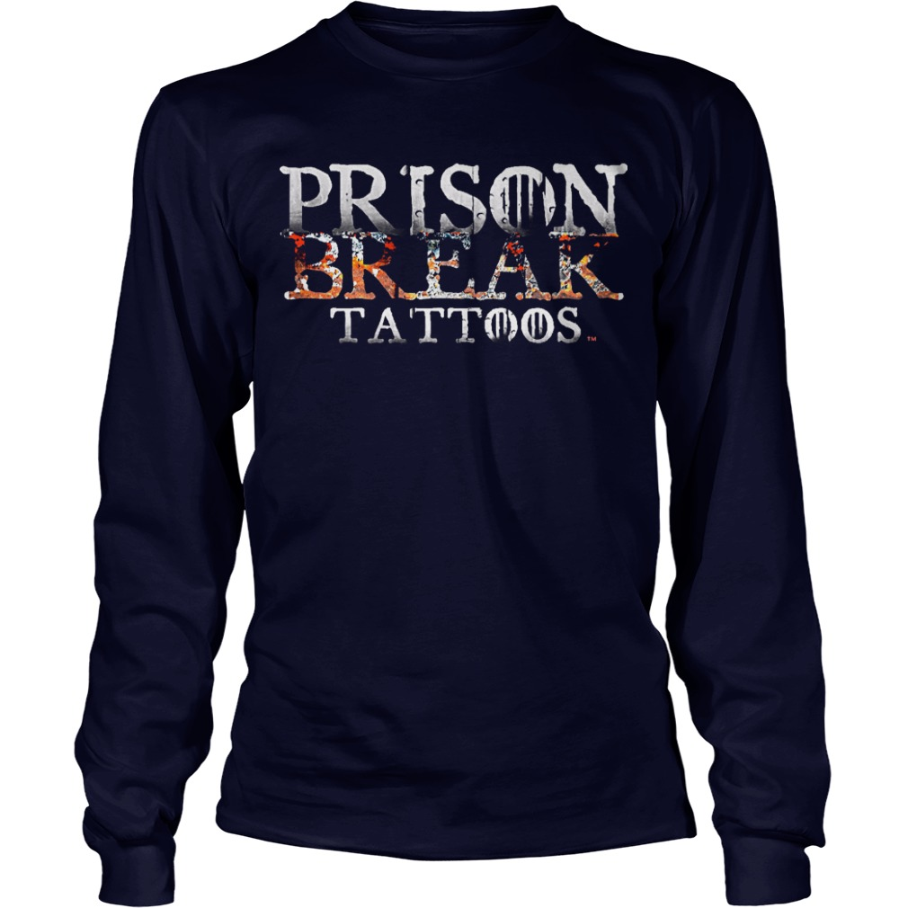Prison Break Tattoos Longsleeve Tee