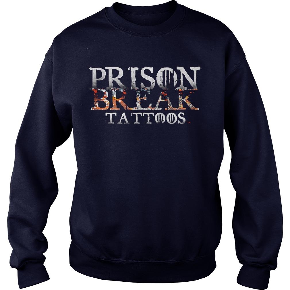 Prison Break Tattoos Sweater