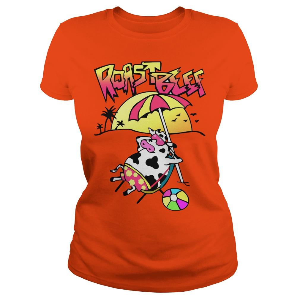 Stranger Things Dustin Roast Beef Ladies Shirt
