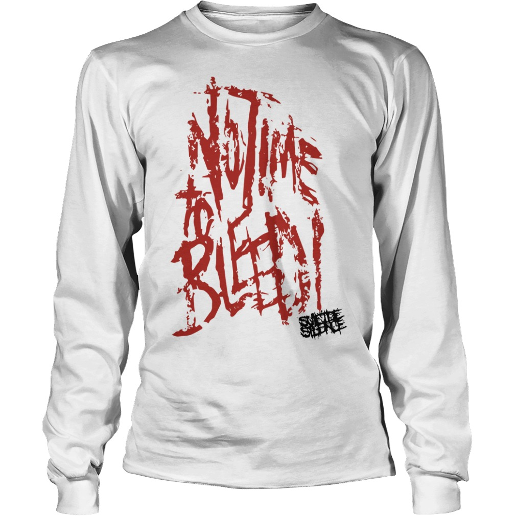 Suicide Silence No Time To Bleed Longsleeve Tee
