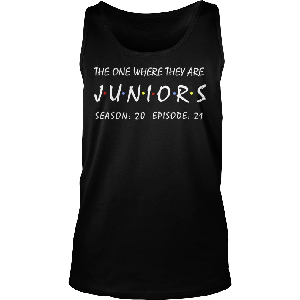 The One Where They Are Juniors Season 20 Episode 21 Tank Top