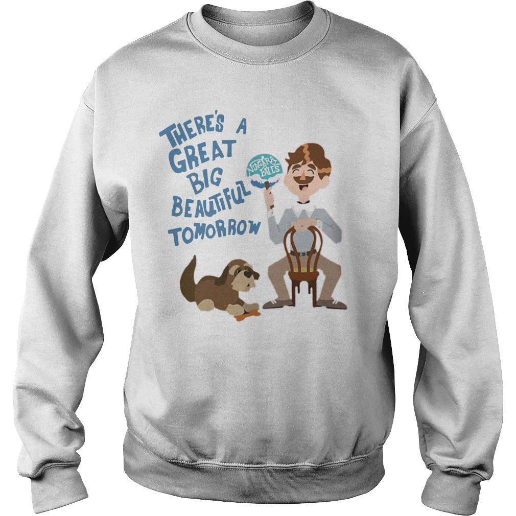 There's A Great Big Beautiful Tomorrow Sweater