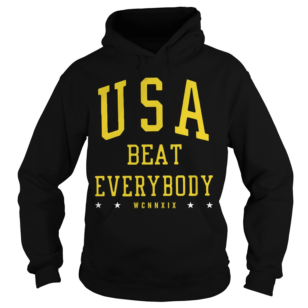 Usa Beat Everybody Hoodie Uswnt