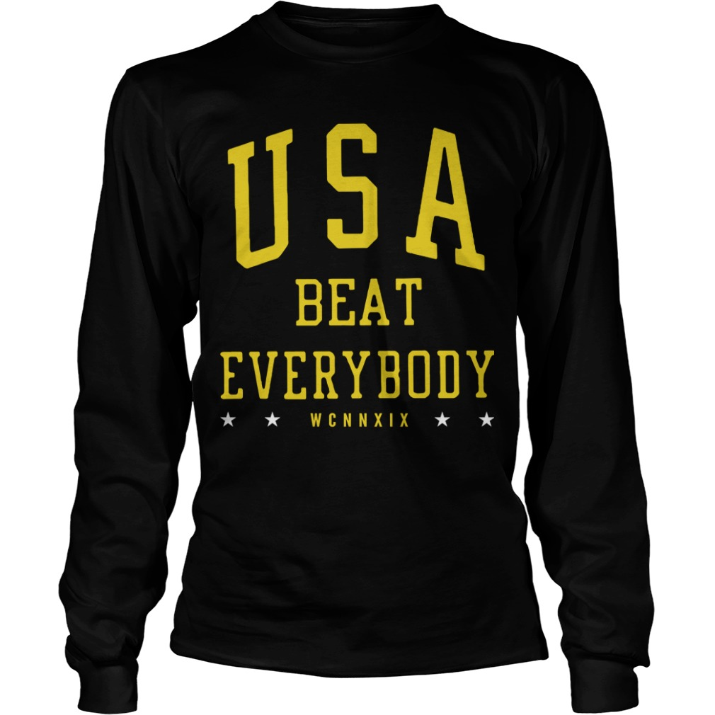 Usa Beat Everybody Longsleeve Tee Uswnt