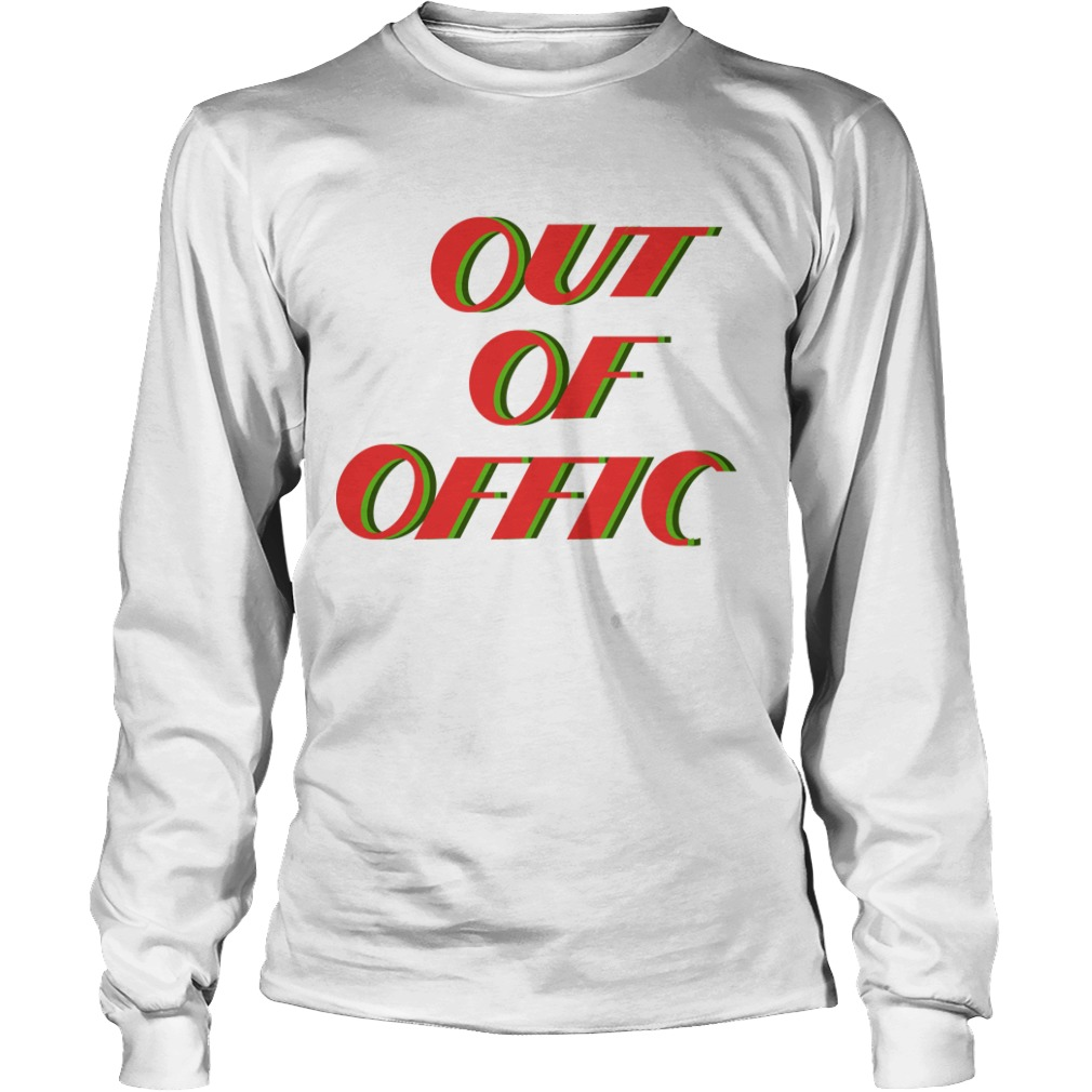 Victoria Justice Out Of Office Longsleeve Tee