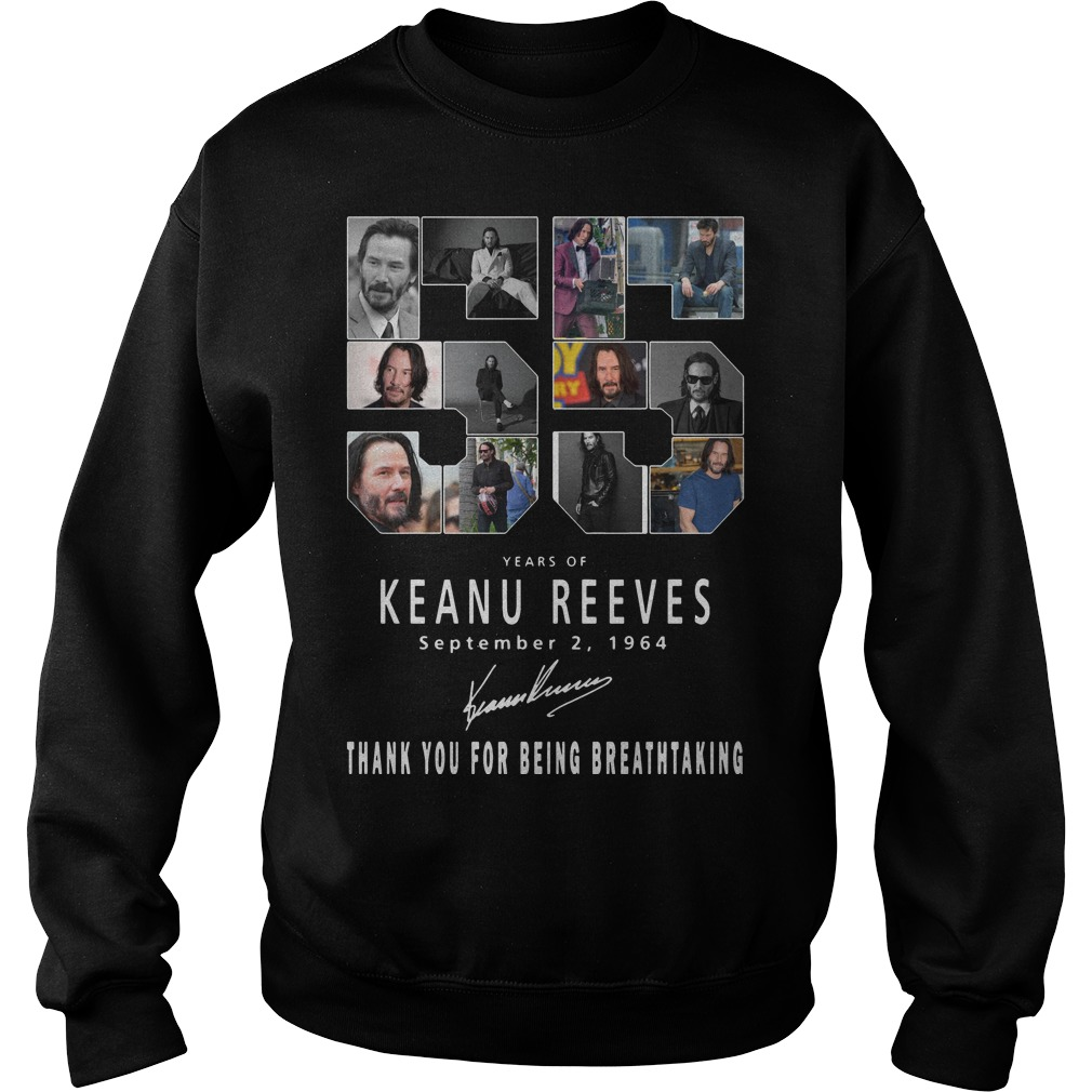 55 Years Of Keanu Reeves Thank You For Breathtaking Sweater