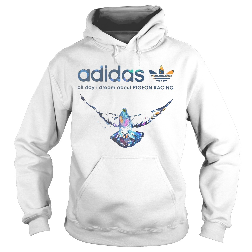 Adidas All Day I Dream About Pigeon Racing Hoodie