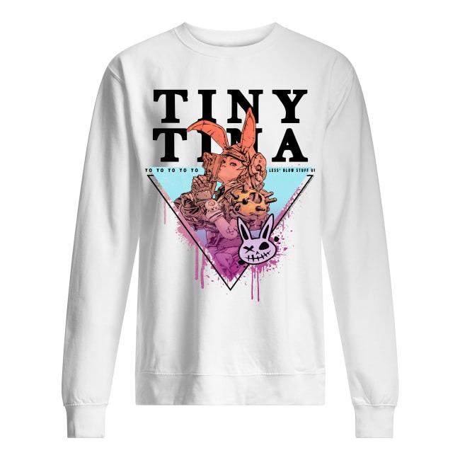 Borderlands 3 Tiny Tina Yo Yo Yo Yo Yo Less' Blow Stuff Up Sweater
