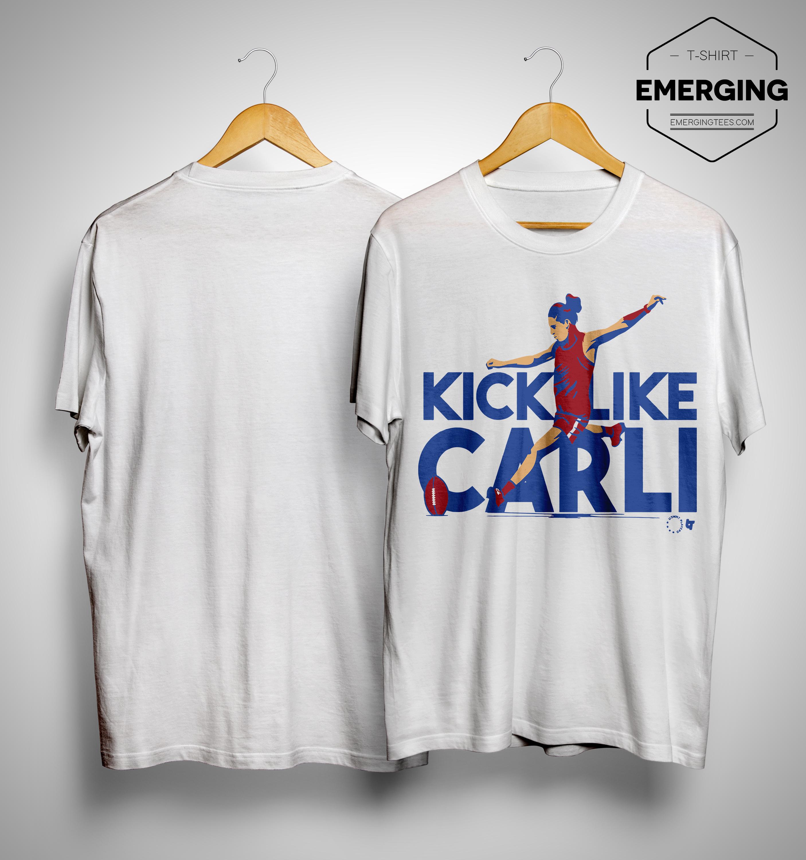 hot sale online ec94e 3014e Carli Lloyd Shirt Kick Like Carli Uswnt Shirt, Sweater and ...
