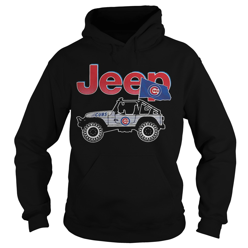 Chicago Cubs Jeep Hoodie