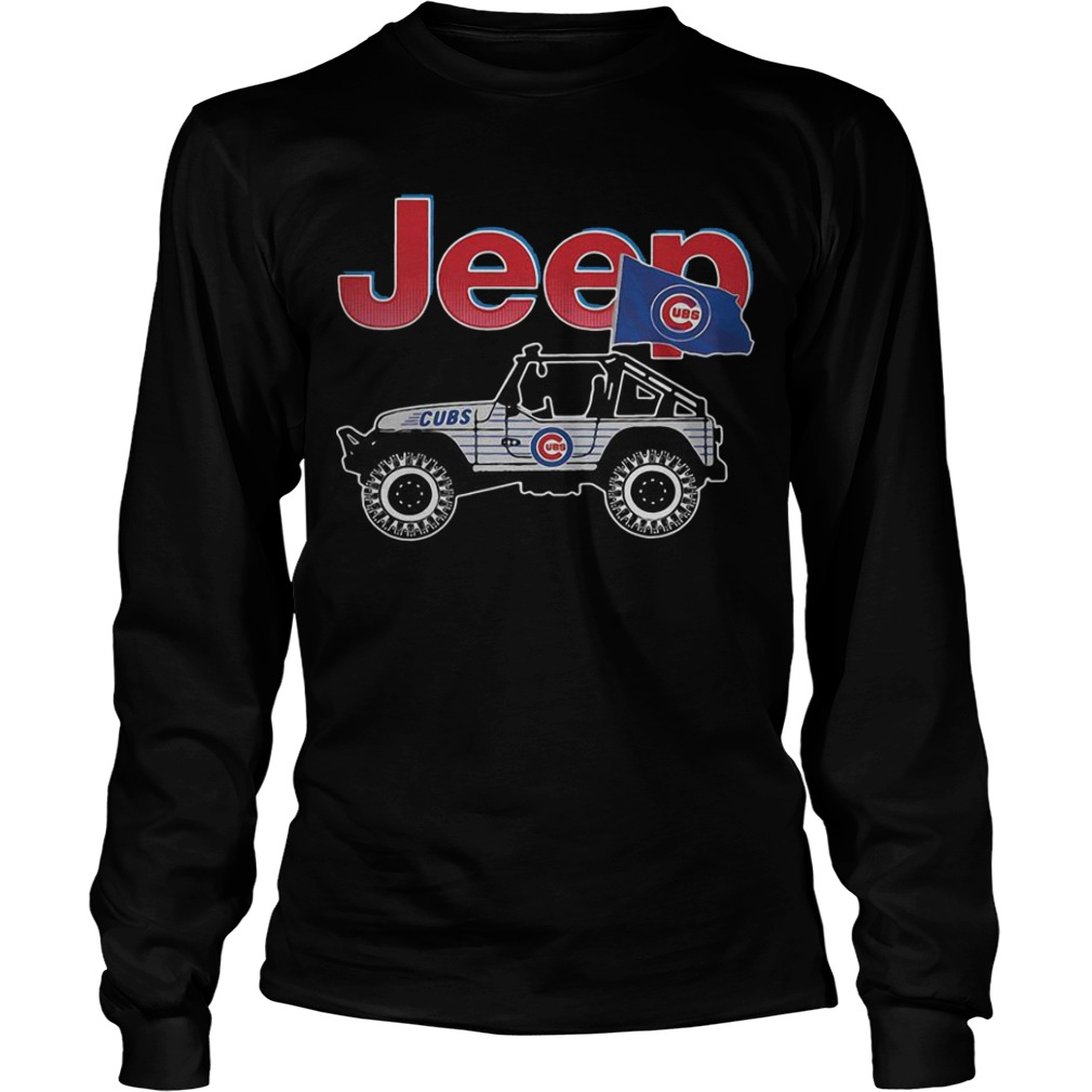 Chicago Cubs Jeep Longsleeve Tee