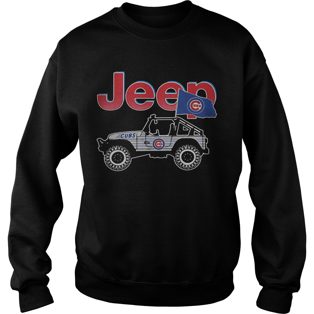 Chicago Cubs Jeep Sweater