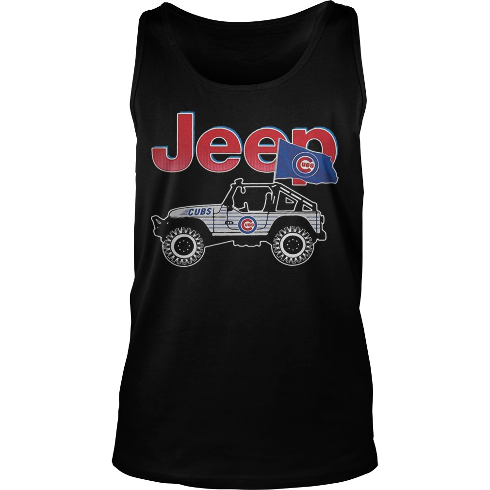 Chicago Cubs Jeep Tank Top