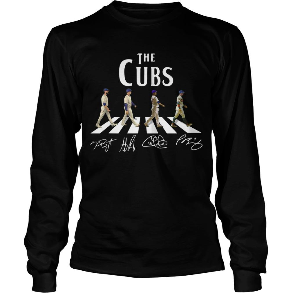 Chicago Cubs The Cubs Abbey Road Signatures Longsleeve