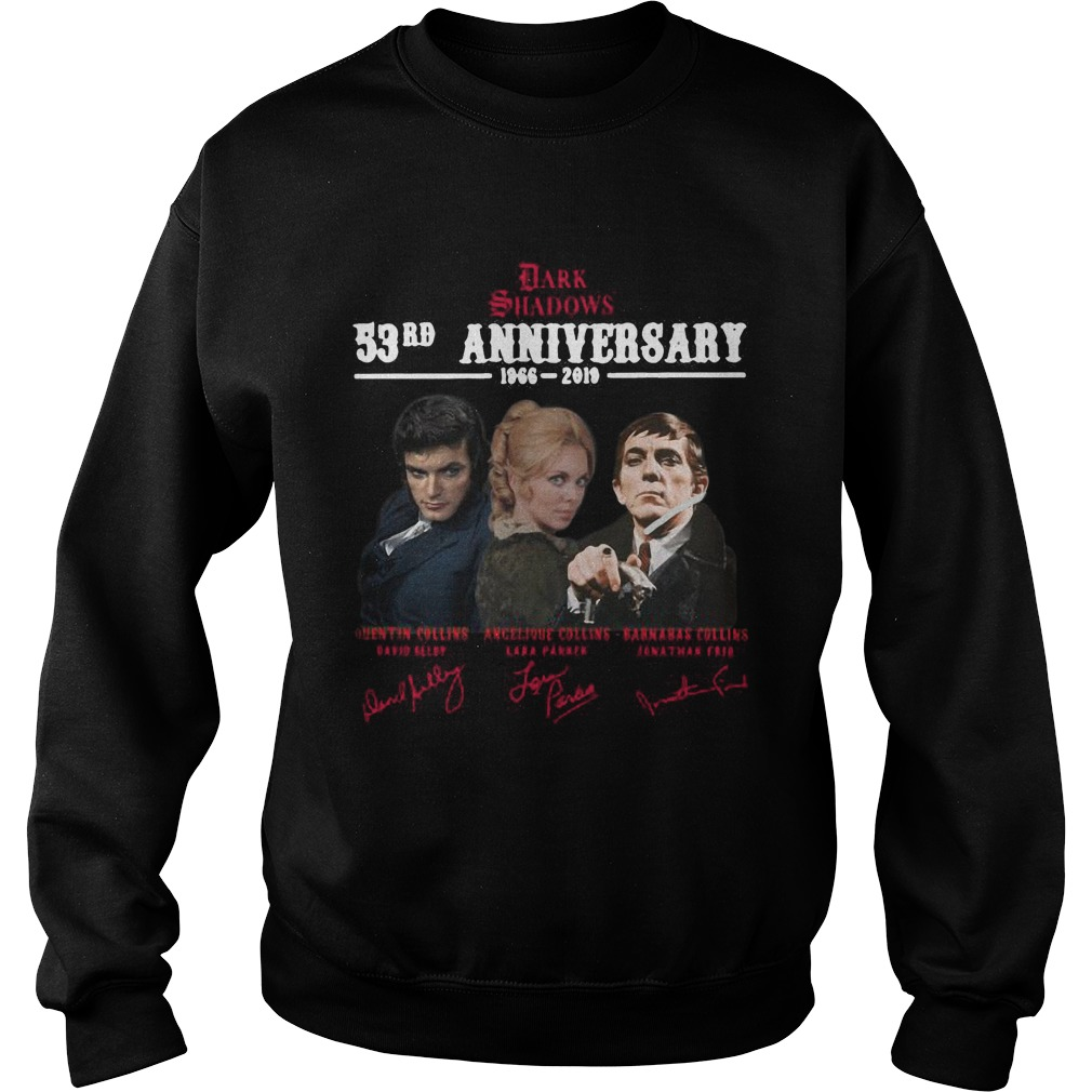 Dark Shadows 53rd Anniversary 1966 2019 Signatures Sweater