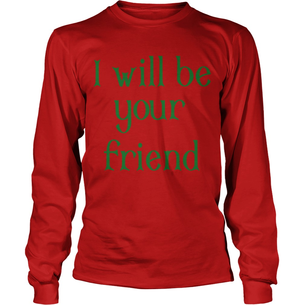 Georgia Boy I Will Be Your Friend Longsleeve Tee