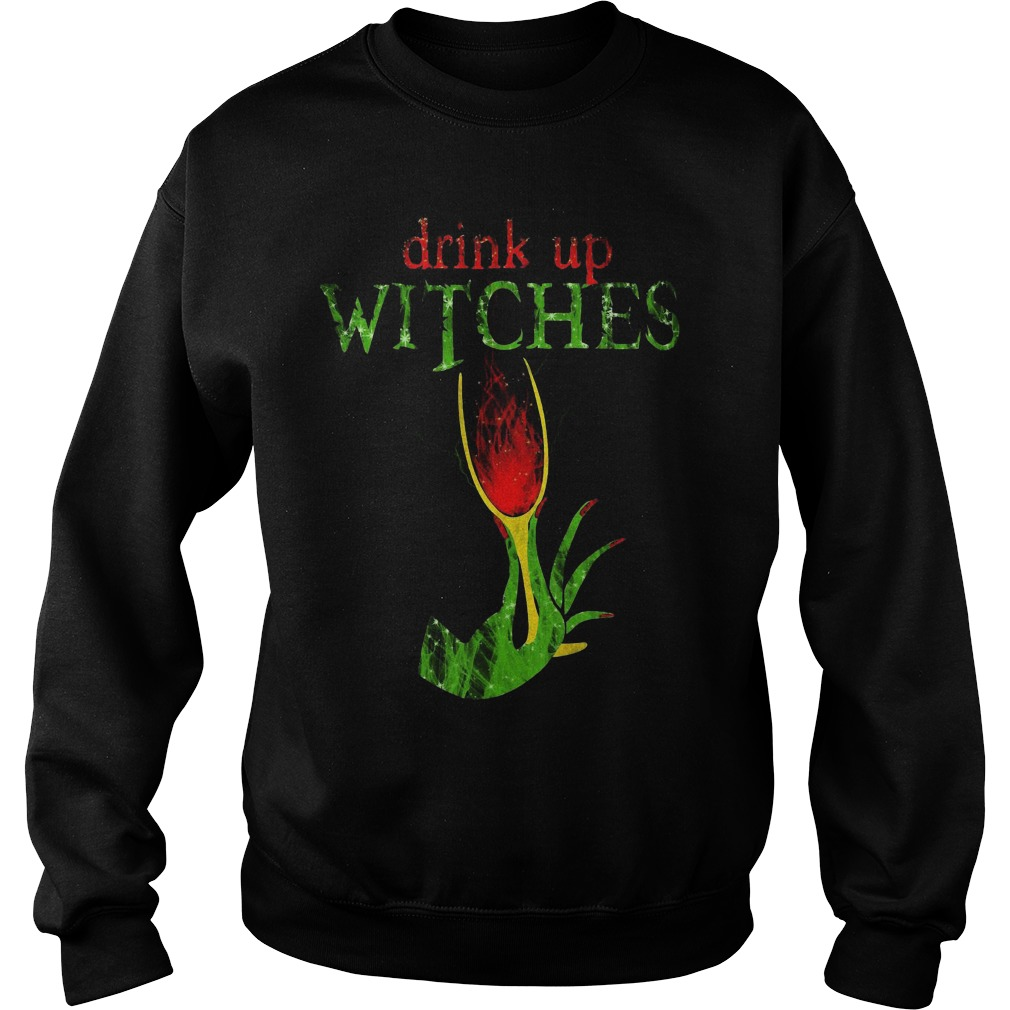 Grinch Drink Up Witches Sweater