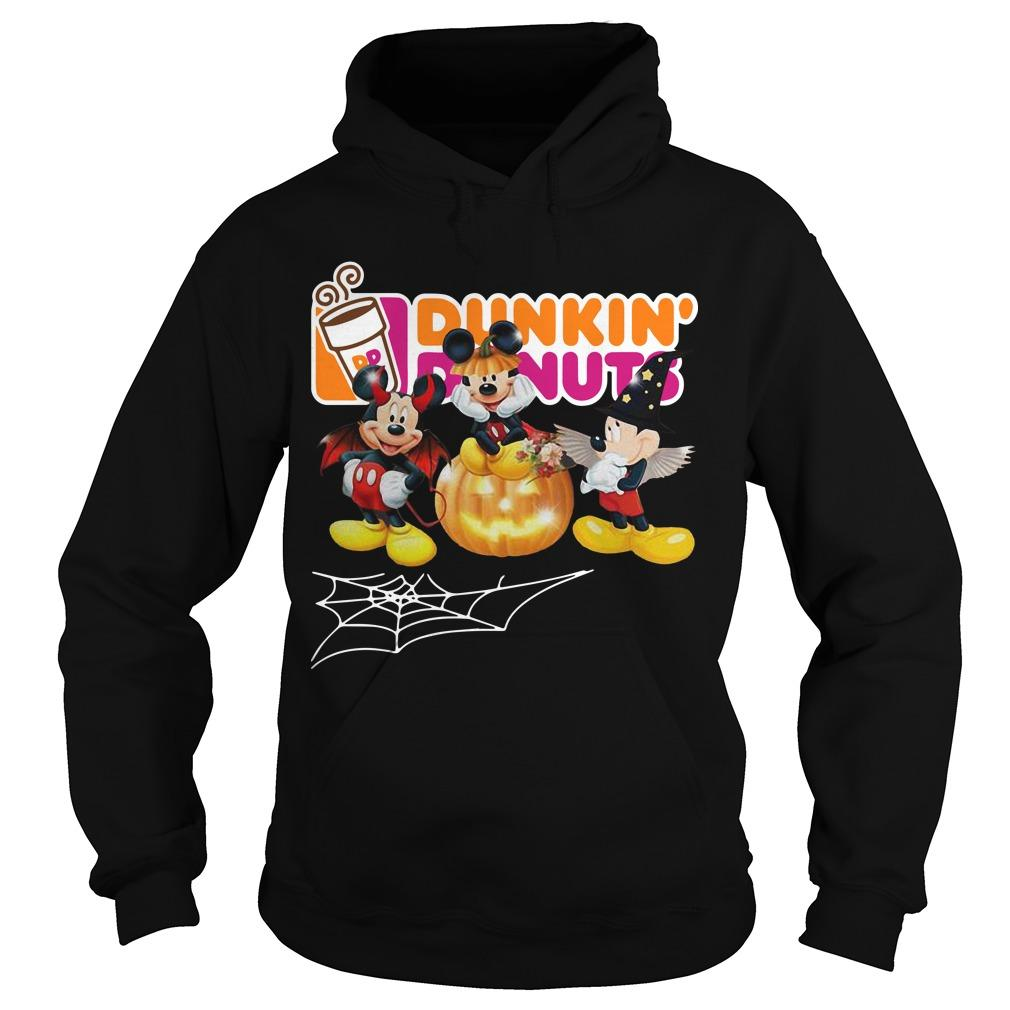 Halloween Dunkin' Donuts Mickey Mouse Hoodie