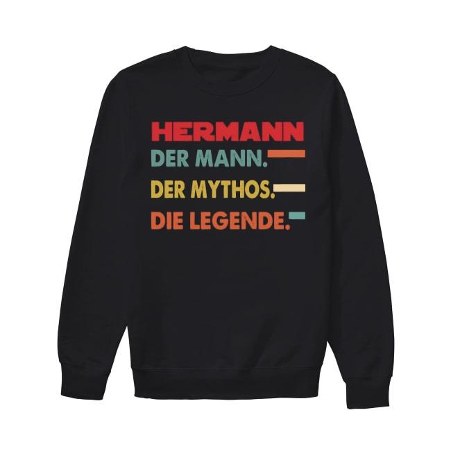 Hermann Der Mann Der Mythos Die Legende Sweater