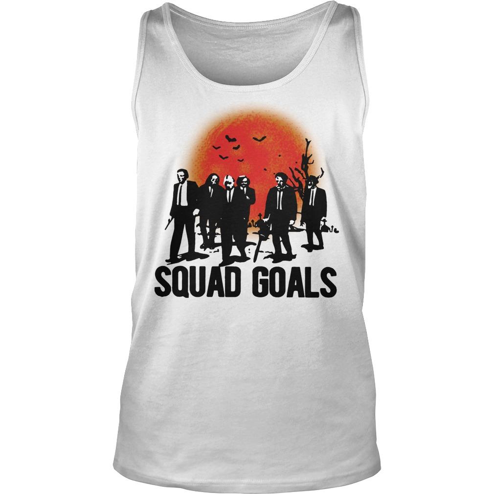 Horror Characters Squad Goals Tank Top
