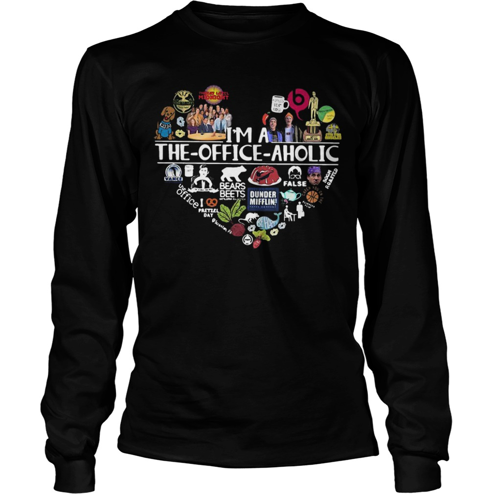I'm A The Office Aholic Longsleeve Tee