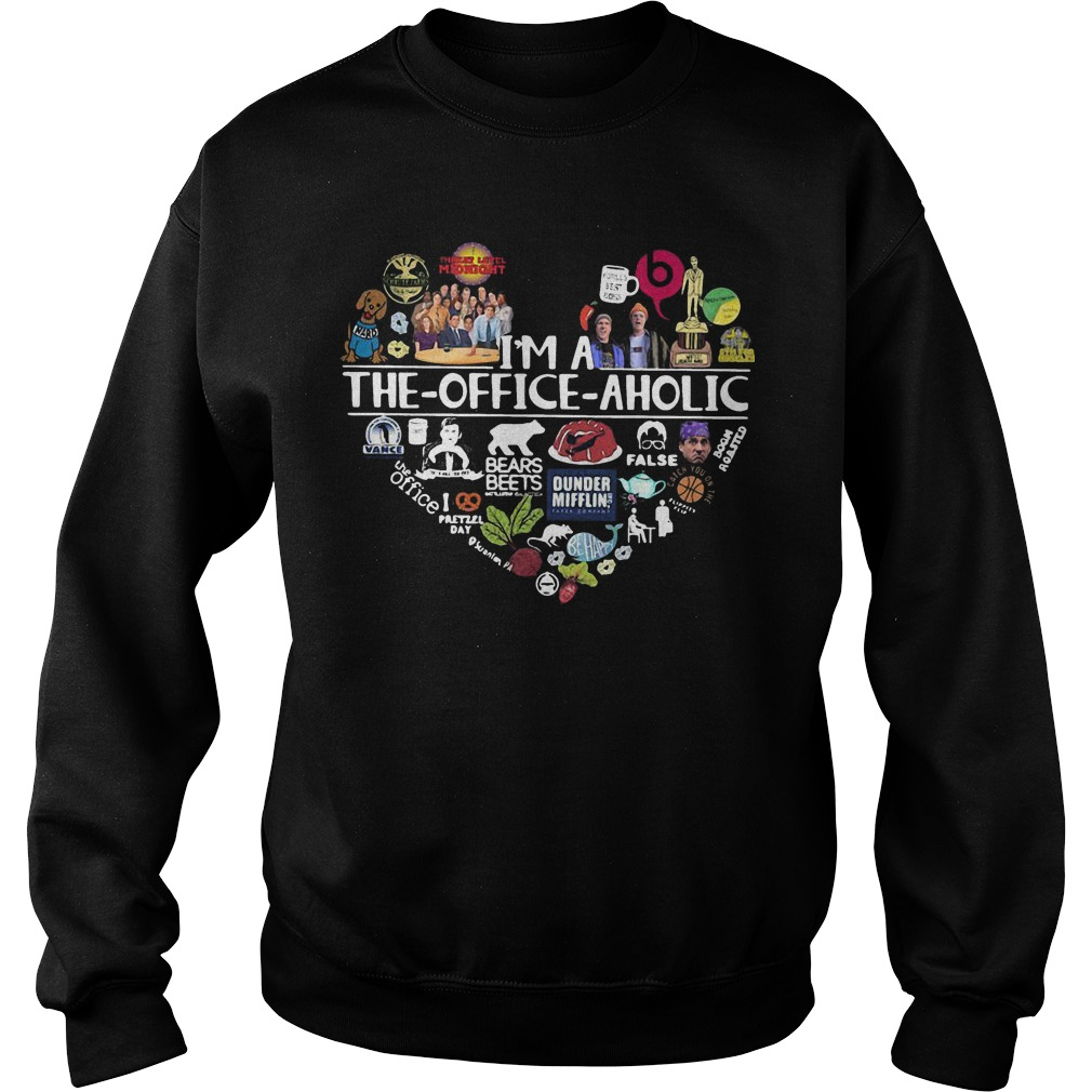 I'm A The Office Aholic Sweater