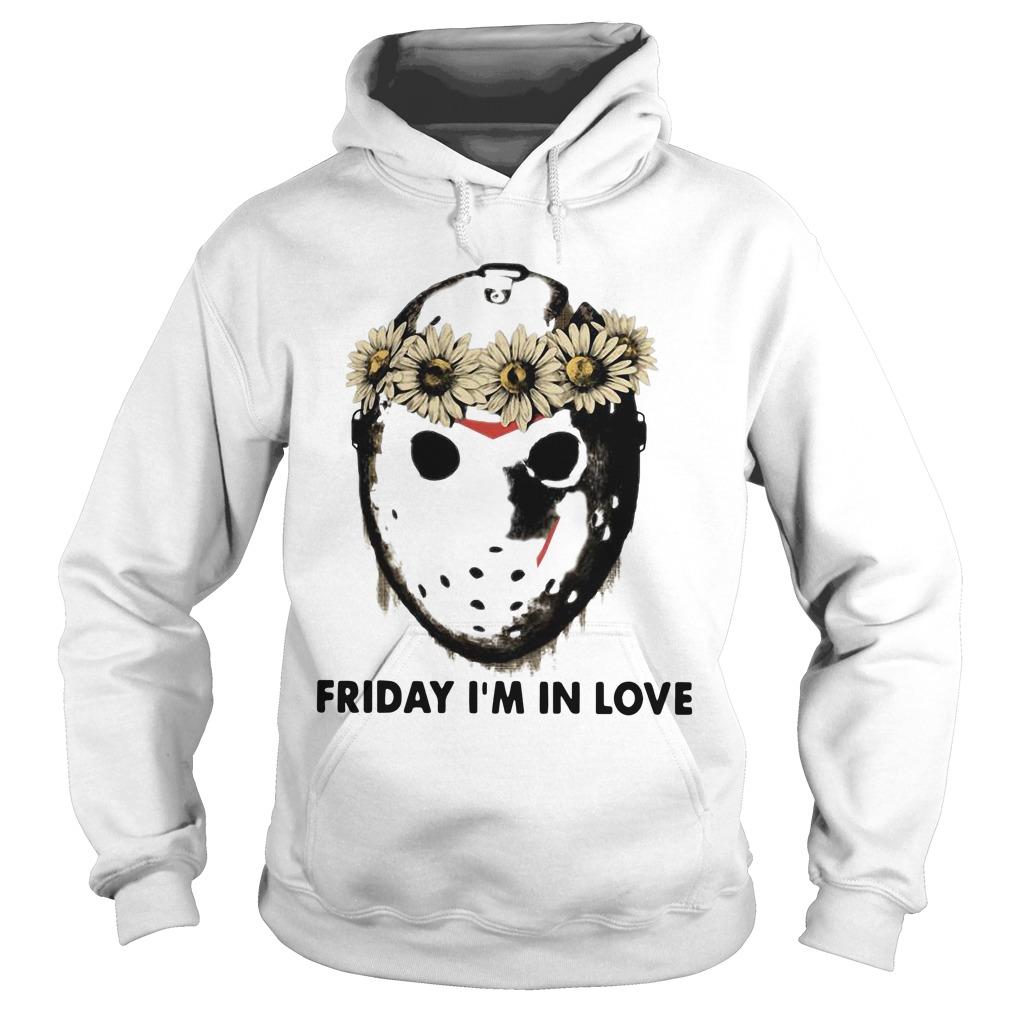 Jason Voorhees Friday I'm In Love Hoodie