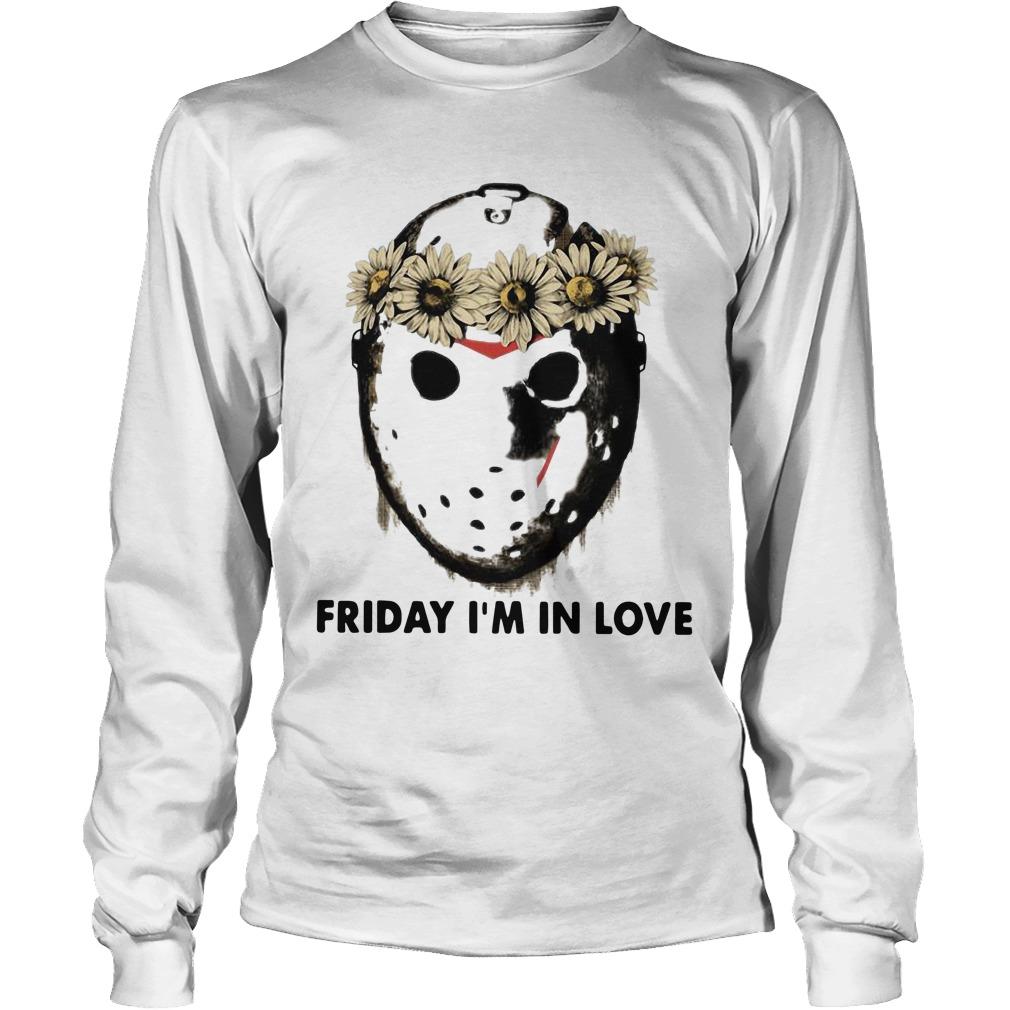 Jason Voorhees Friday I'm In Love Longsleeve Tee
