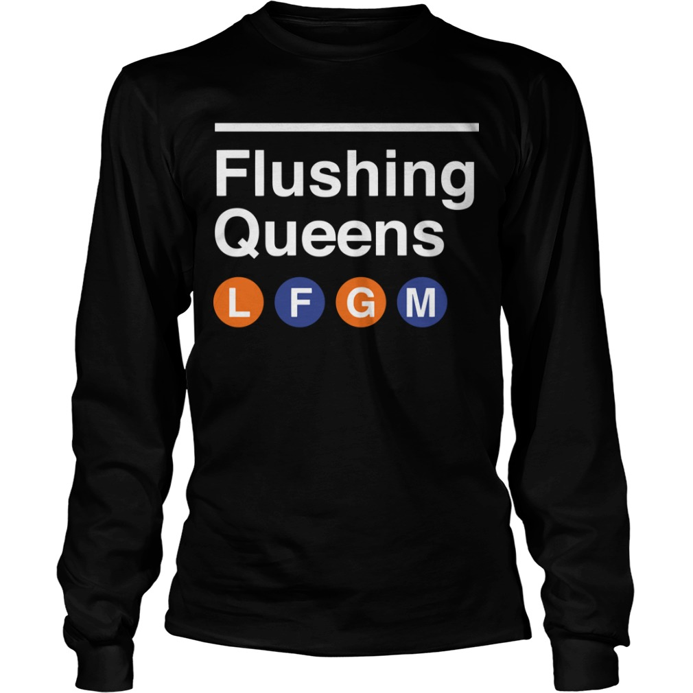 Lfgm Flushing Queens Longsleeve Tee