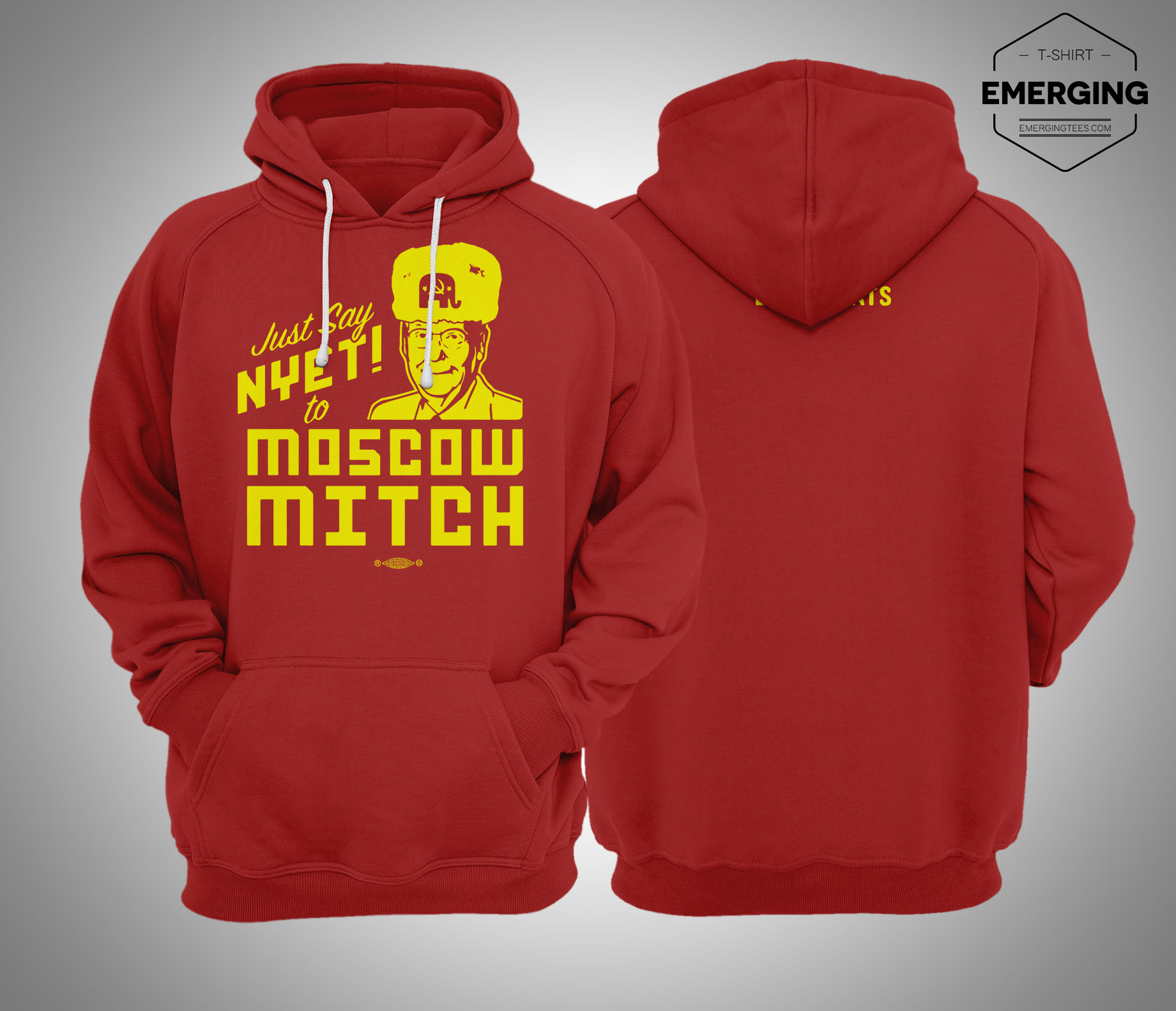 Moscow Mitch Hoodie Kentucky Democrats