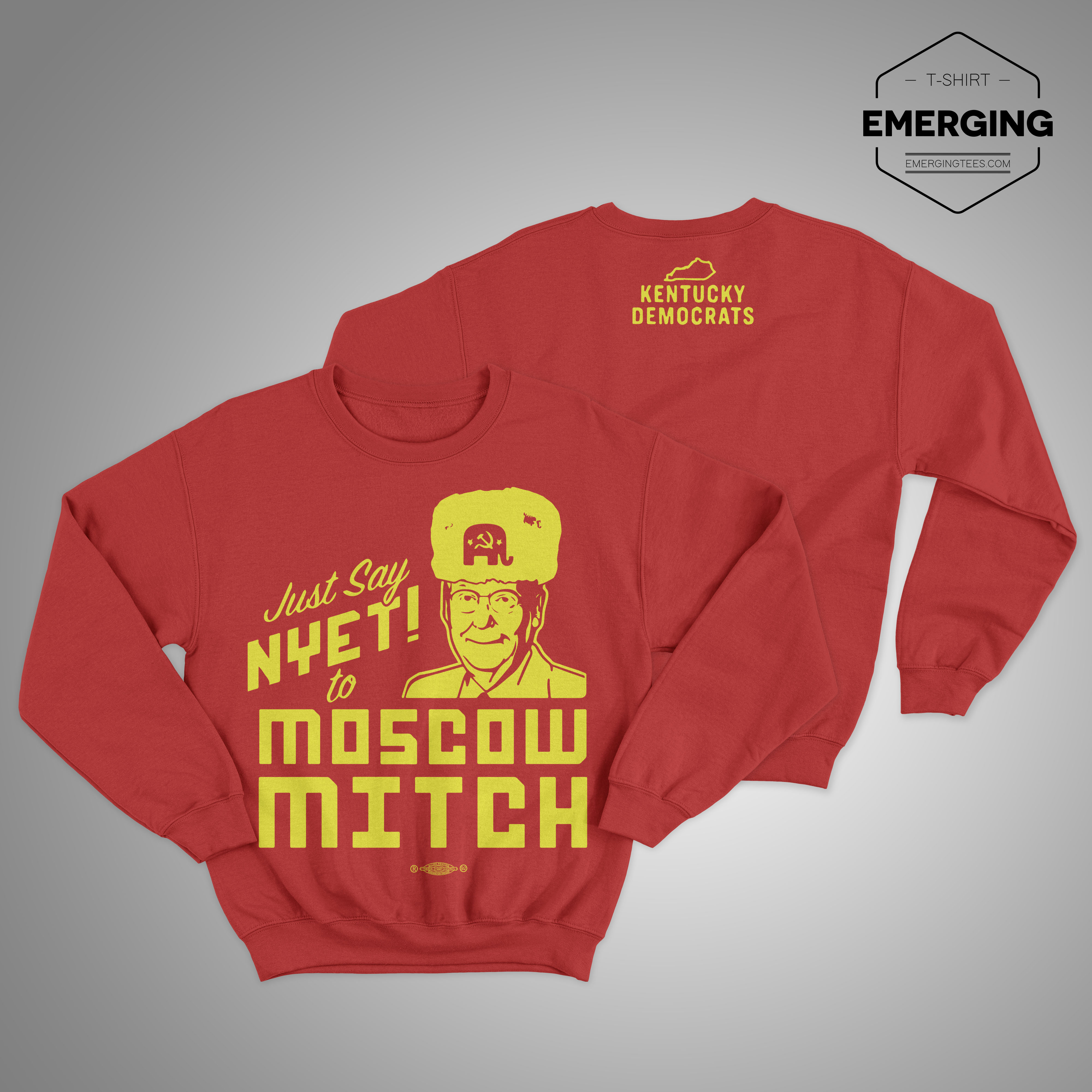 Moscow Mitch Sweater Kentucky Democrats