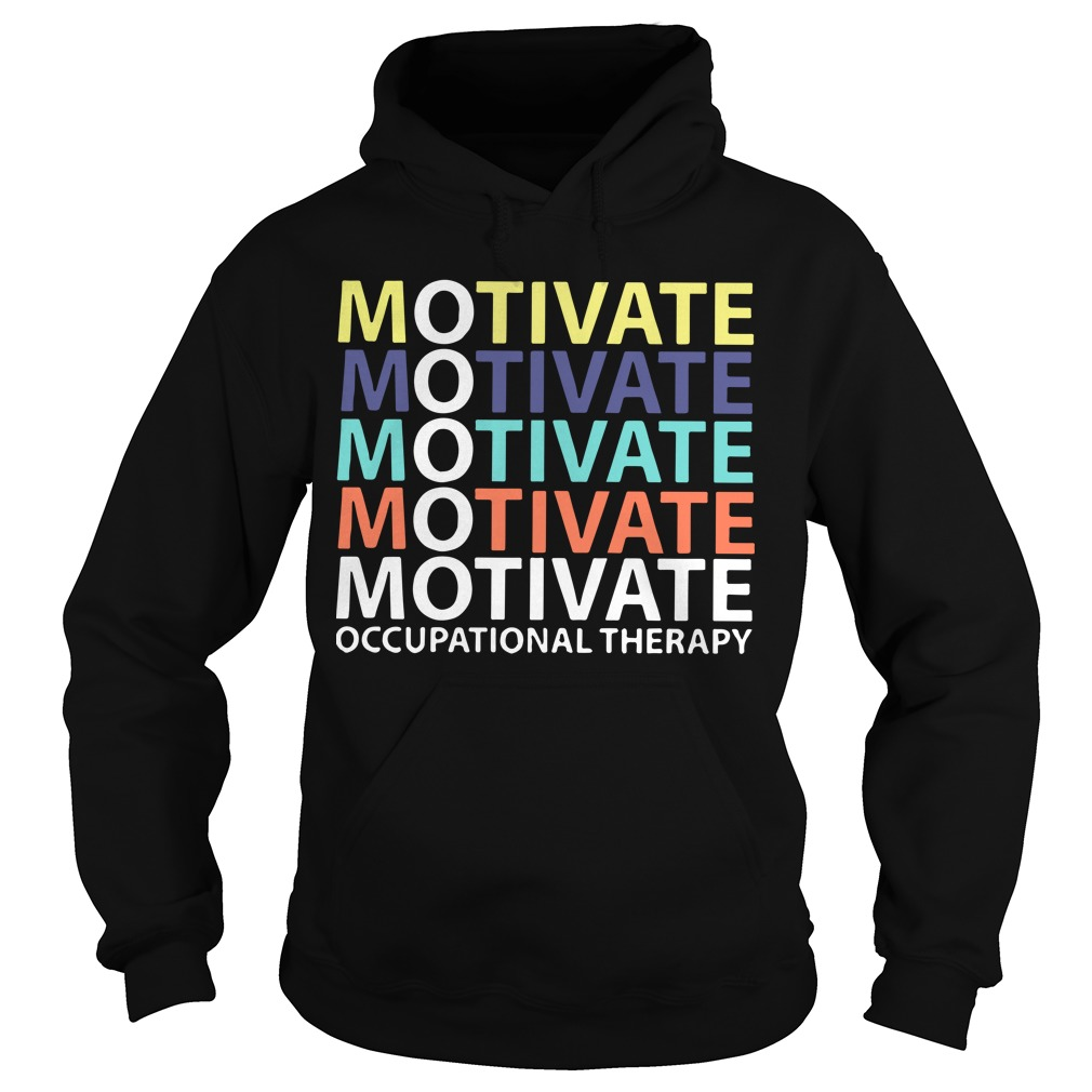 Motivate Occupational Therapy Vintage Hoodie