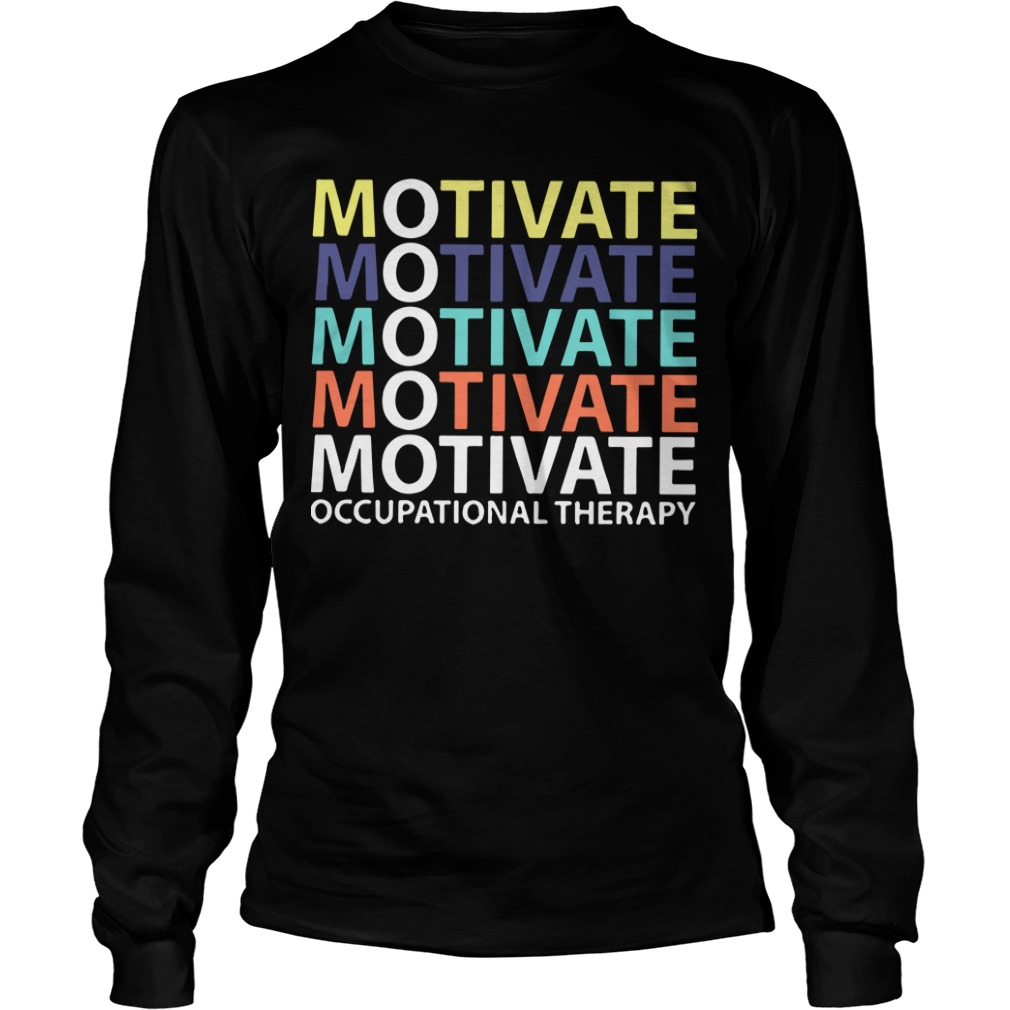Motivate Occupational Therapy Vintage Longsleeve Tee