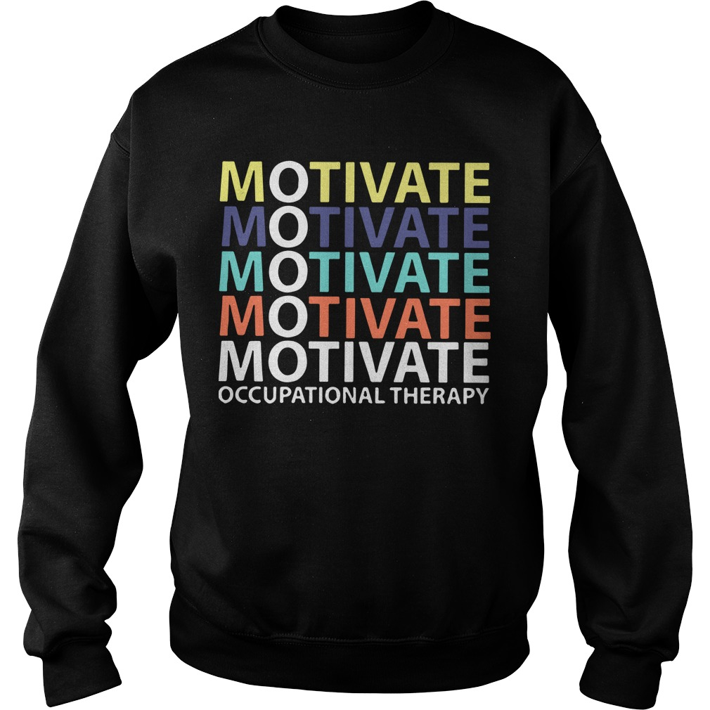 Motivate Occupational Therapy Vintage Sweater