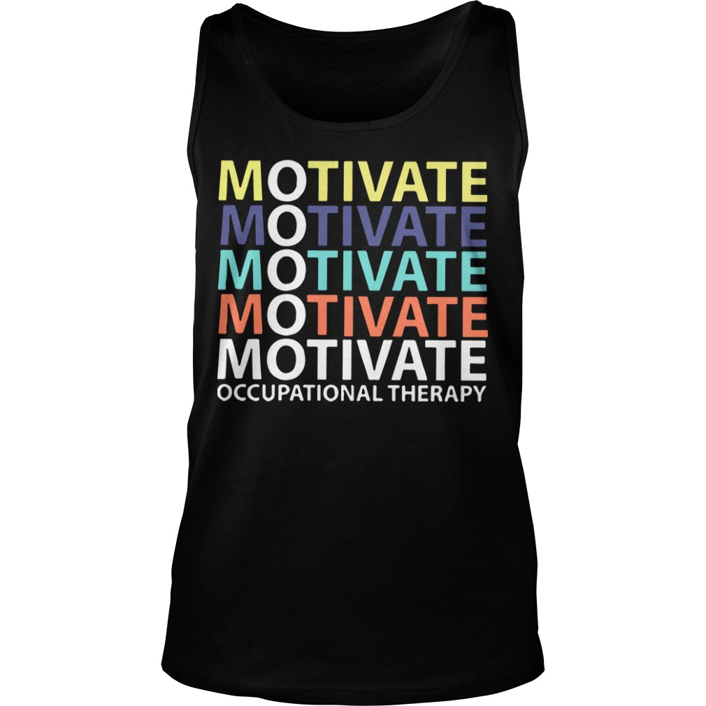 Motivate Occupational Therapy Vintage Tank Top