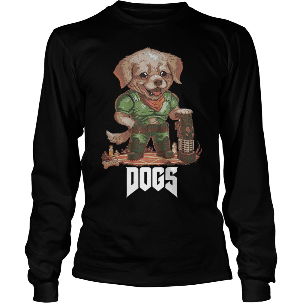 Quakecon Doom Dogs Longsleeve Tee