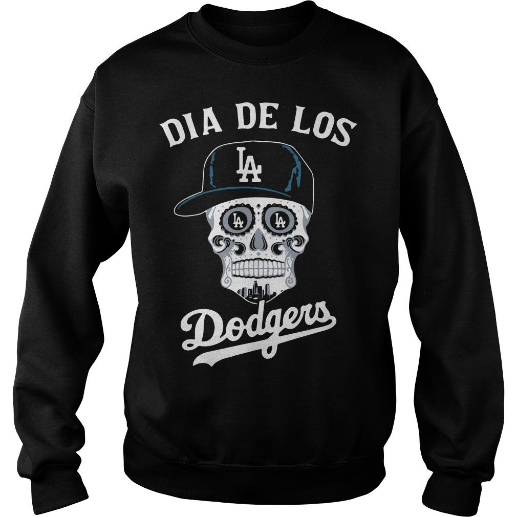Skull Los Angeles Dia De Los Dodgers Sweater
