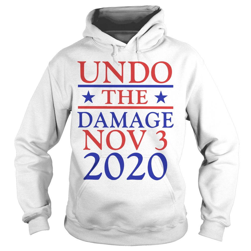 Undo The Damage Nov 3 2020 Hoodie