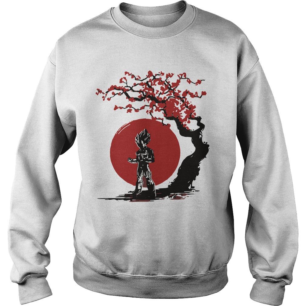 Vegeta Cherry Blossom Sweater