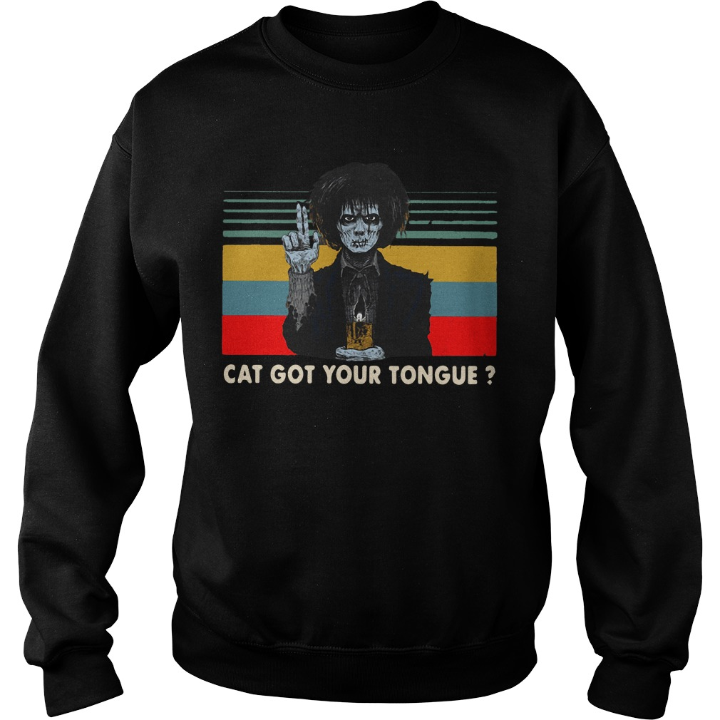 Vintage Billy Butcherson Cat Got Your Tongue Sweater
